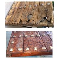Portones de madera antiguos portones de madera antiguos for Como restaurar puertas de madera antiguas